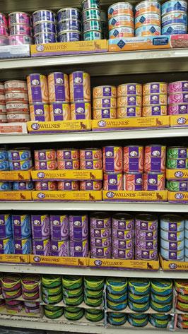 petfood cans